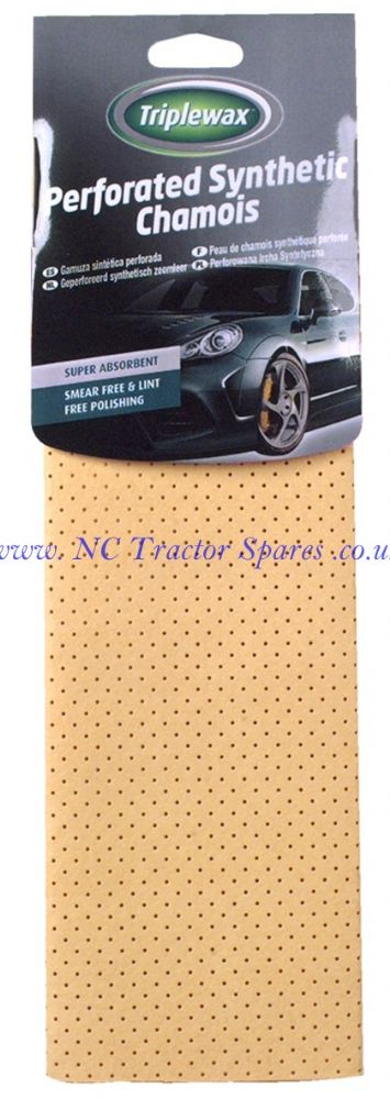 Triplewax Perforated Synthetic Chamois